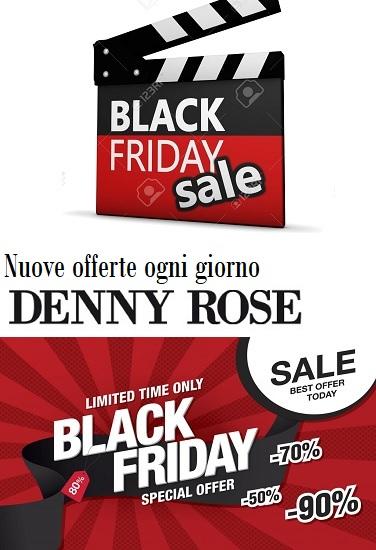 Denny Rose Piumini Jeans e Borse